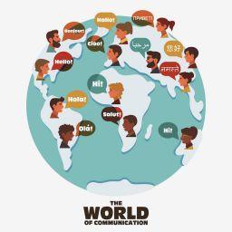 多言語のウエブサイト